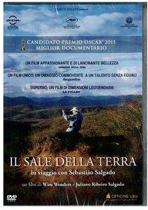 Il sale della terra - DVD: in viaggio con Sebastiao Salgado. Juliano Ribeiro Salgado, Win Wenders | DVD | Itacalibri