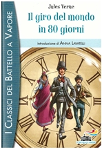Il giro del mondo in 80 giorni - Jules Verne   Libro   Itacalibri
