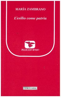 L'esilio come patria - María Zambrano   Libro   Itacalibri
