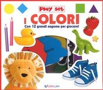 I colori: Con 12 grandi sagome per giocare. AA.VV.   Libro   Itacalibri