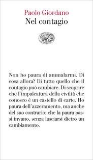 Nel contagio - Paolo Giordano | Libro | Itacalibri