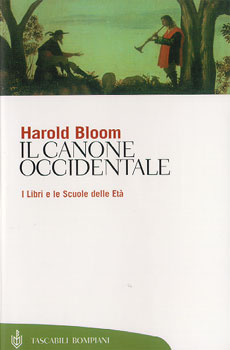 Harold bloom il canone occidentale
