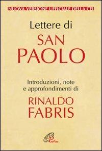 Lettere di San Paolo: Nuova versione ufficiale della CEI | Libro | Itacalibri