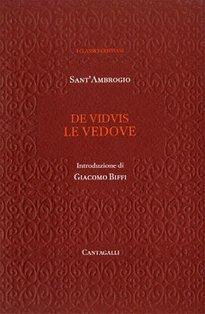 De viduis. Le vedove - Sant'Ambrogio | Libro | Itacalibri