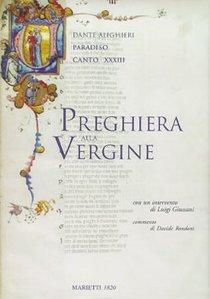 Preghiera alla Vergine: <i>Paradiso</i>, canto XXXIII. Dante Alighieri | Libro | Itacalibri