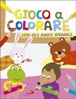 Gioco a colorare con gli amici animali - Lodovica Cima | Libro | Itacalibri