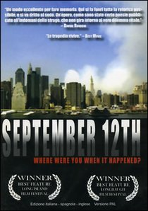 September 12th - Dvd: Where were you when it happened?. John Touhey | DVD | Itacalibri