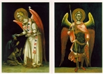 Gli angeli del Guariento - 30 cartoline - Guariento | Biglietti | Itacalibri
