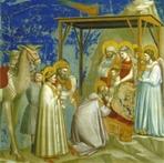 Biglietto natalizio. Giotto - Epifania: (biglietto comprensivo di busta). Giotto | Biglietti | Itacalibri