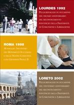 Lourdes 1992 - Roma 1998 - Loreto 2002 - DVD - AA.VV. | DVD | Itacalibri