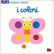 I colori: Scorri e gioca. Nathalie Choux | Libro | Itacalibri